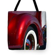Red Chevy Pickup Fender Tote Bag
