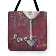 Red Geisha Love 1 Tote Bag