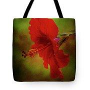 Red Hibiscus Art Tote Bag