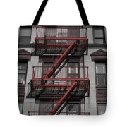 2 Red Zs Tote Bag