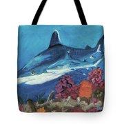2 Reef Sharks Tote Bag