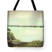 Reelfoot Lake Fishing Tote Bag
