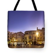 Reus Triptych, Spain Tote Bag