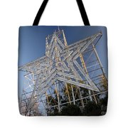Roanoke Star In Late Afternoon Tote Bag