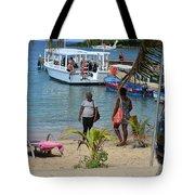 Roatan Scene Tote Bag