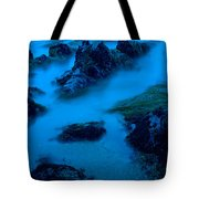 Rock Formations On The Coast, Central Tote Bag