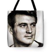 Rock Hudson, Vintage Hollywood Legend Tote Bag