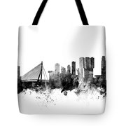Rotterdam The Netherlands Skyline Tote Bag