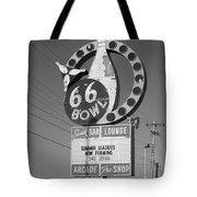Route 66 Bowl Tote Bag