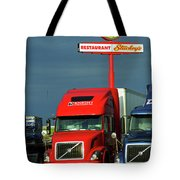 Route 66 - Dixie Truckers Home Tote Bag