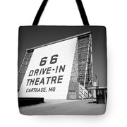 Route 66 - Drive-in Theatre Tote Bag