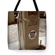 Route 66 Gas Pump Tote Bag