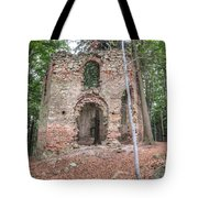Ruins Of The Baroque Chapel Of Saint Mary Magdalene Tote Bag