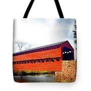 Sachs Bridge - Gettysburg Tote Bag
