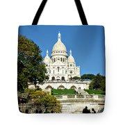 Sacre-coeur /  Basilica Of The Sacred Heart Of Paris Tote Bag