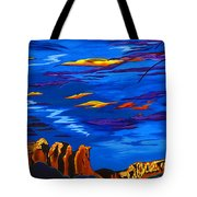 Sailing Sedonas Sky Tote Bag