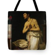 Saint Dominic In Penitence Tote Bag