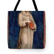 Saint Francis Of Assisi Tote Bag