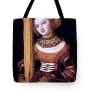 Saint Helena With The Cross Tote Bag