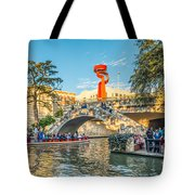 San Antonio River Walk Tote Bag