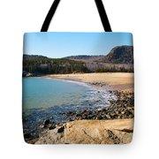 Sand Beach Acadia National Park Tote Bag