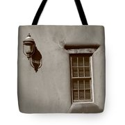 Santa Fe - Adobe Window And Light Tote Bag