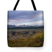 Sawtooth Range Tote Bag