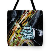 Sax Co-notations Tote Bag