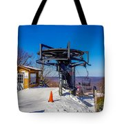 Scenery Around Timberline Ski Resort West Virginia Tote Bag