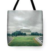 Scenes Around Lincoln Memorial Washington Dc Tote Bag