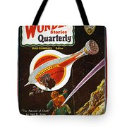 Sci-fi Magazine Cover, 1931 Tote Bag
