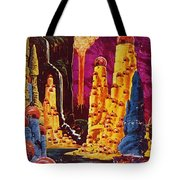 Science Fiction Magazine Tote Bag