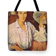Self-portrait Zinaida Serebryakova Tote Bag