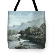Serenity - Tranquil Stream Tote Bag