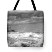 Serious Ocean Tote Bag