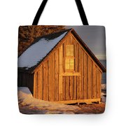 Shack At Stoney Point Tote Bag