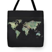 Shattered World Tote Bag