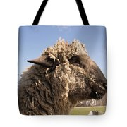 Sheep In Profile Tote Bag