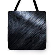 Shiny Black Hair  Tote Bag