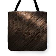 Shiny Brunette Hair  Tote Bag