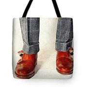 Shoe Work Tote Bag