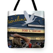 Shoreline Amphitheatre - Dead And Company Tote Bag