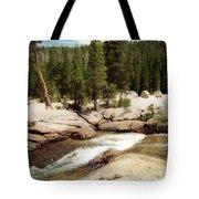 Sierra Nevada Mountain Stream Tote Bag