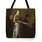 Singing A Pathetic Song Tote Bag