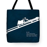 Sjo Juan Santamaria International Airport In San Jose Costa Rica Tote Bag
