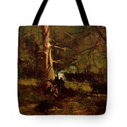 Skirmish In The Wilderness Tote Bag
