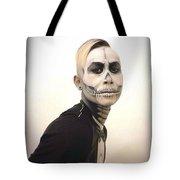 Skull And Tux Tote Bag