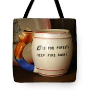 Smokey The Bear  Tote Bag