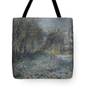 Snow Covered Landscape Tote Bag