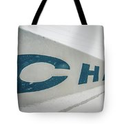 Snowy Weather Conditions Around Charlotte Airport In North Carol Tote Bag